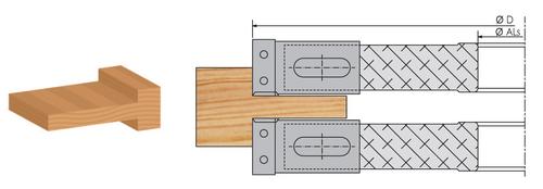Насадная фреза со сменными кассетными ножами